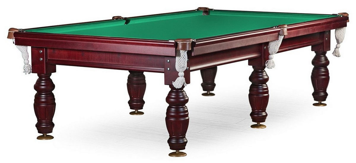 Купить Бильярдный стол для пула Дебют 9 ф (махагон) ЛДСП KP09, NoBrand