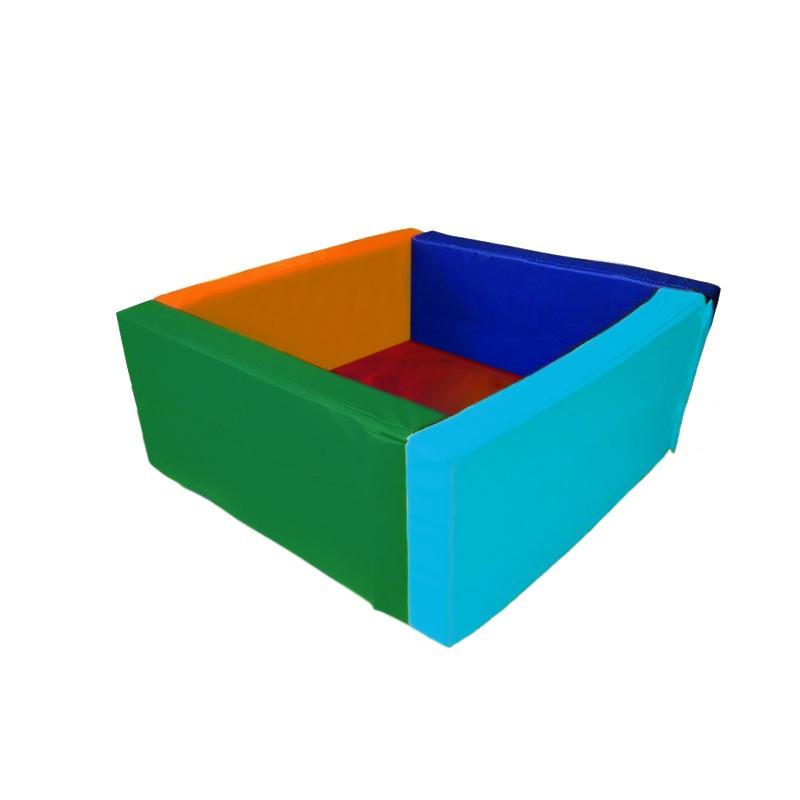 Купить Сухой бассейн квадратный 1500х1500х600х100 мм (наполнитель холлослеп/холлофайбер) Dinamika ZSO-003052, Сухие бассейны