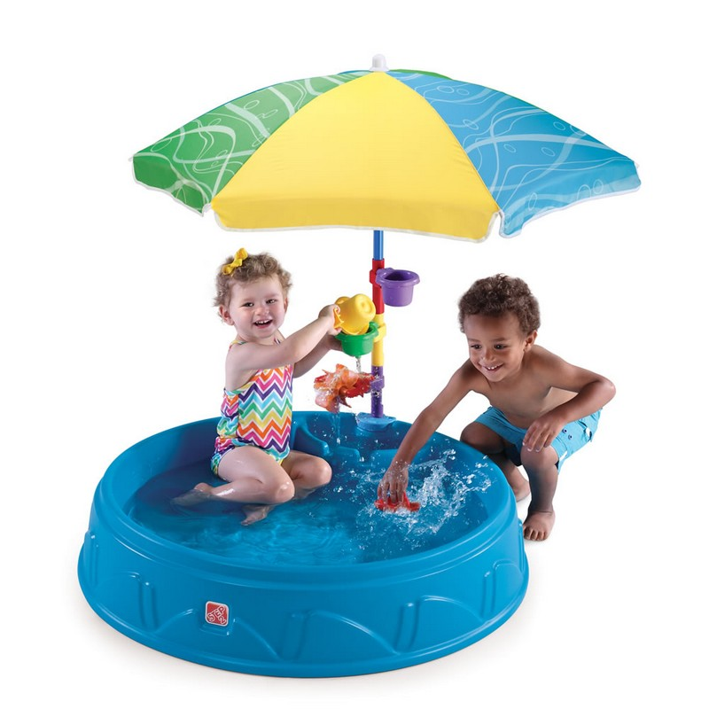 Купить Бассейн для малышей с зонтиком Step2 716000, Step-2