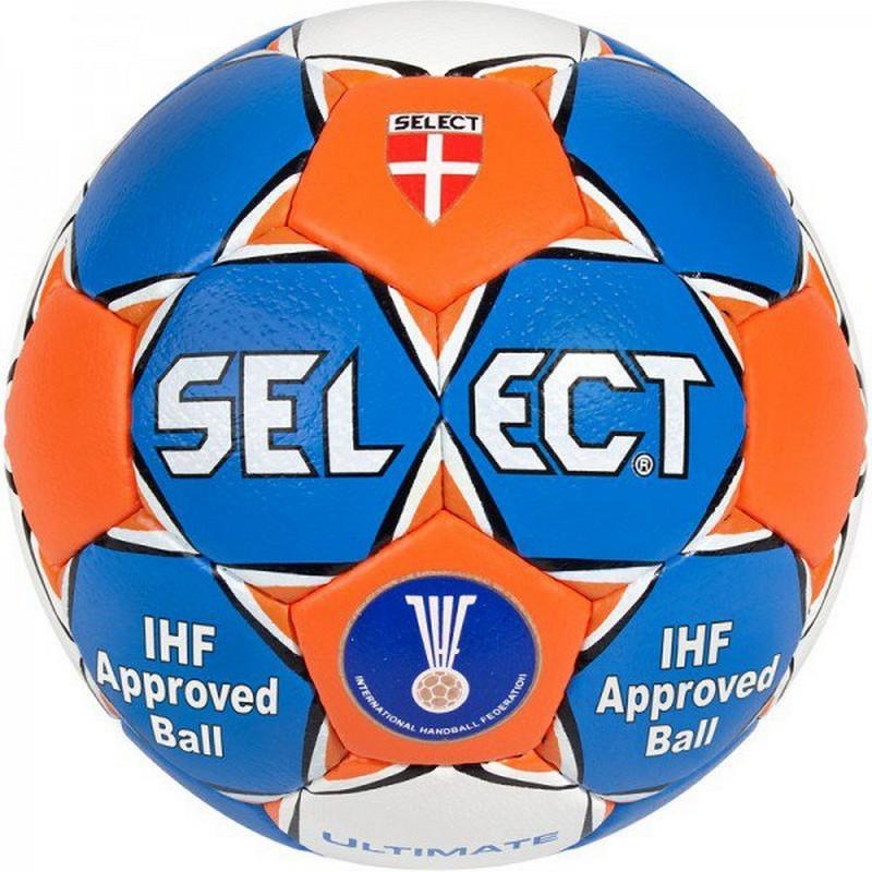 Мяч гандбольный Select Ultimate IHF ФГР р.2 син\оранж. мяч футзальный select futsal talento 11 852616 049 р 3