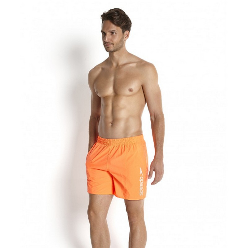 Шорты пляжные Speedo Solid Leisure 16 quot; Watershort мужские оранжевые