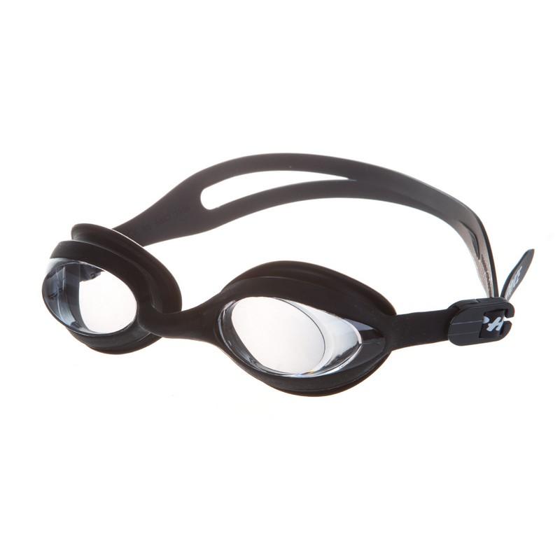 Очки для плавания Alpha Caprice GA 1018 OPT Black с диоптриями -2,5 очки для плавания tyr corrective optical с диоптриями цвет дымчатый 2 0 lgopt