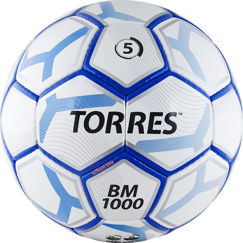 Мяч футбольный Torres BM 1000 F30625, размер 5 мяч футбольный torres bm 1000 f30625 р 5