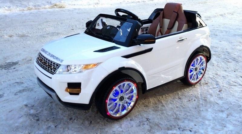 Детский электромобиль River-Auto Range Rover A111AA VIP