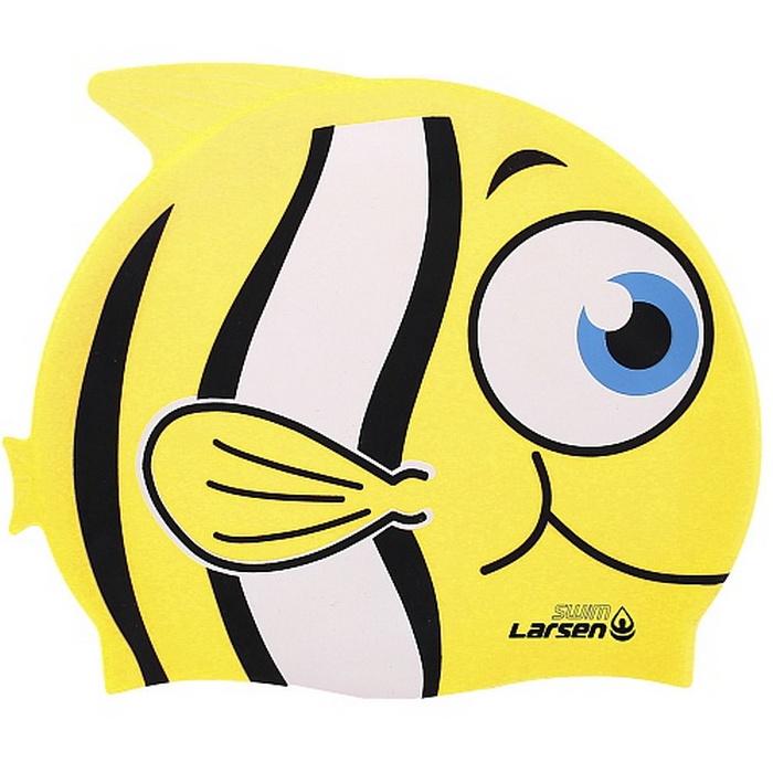 Шапочка для плавания Larsen LSC10,  - купить со скидкой