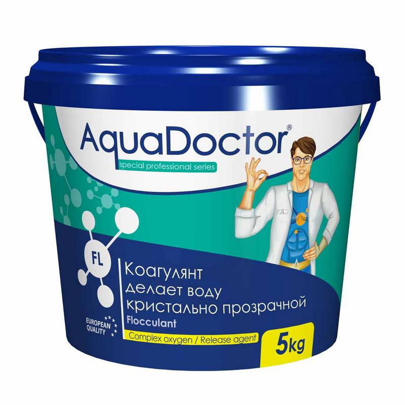 Купить Коагулянт AquaDoctor 5 кг (Турция) FL-5,