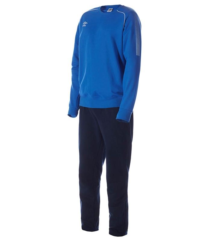 Костюм спортивный Umbro Prodigy Team Poly Suit мужской 350415 (791) син/т.син/бел.