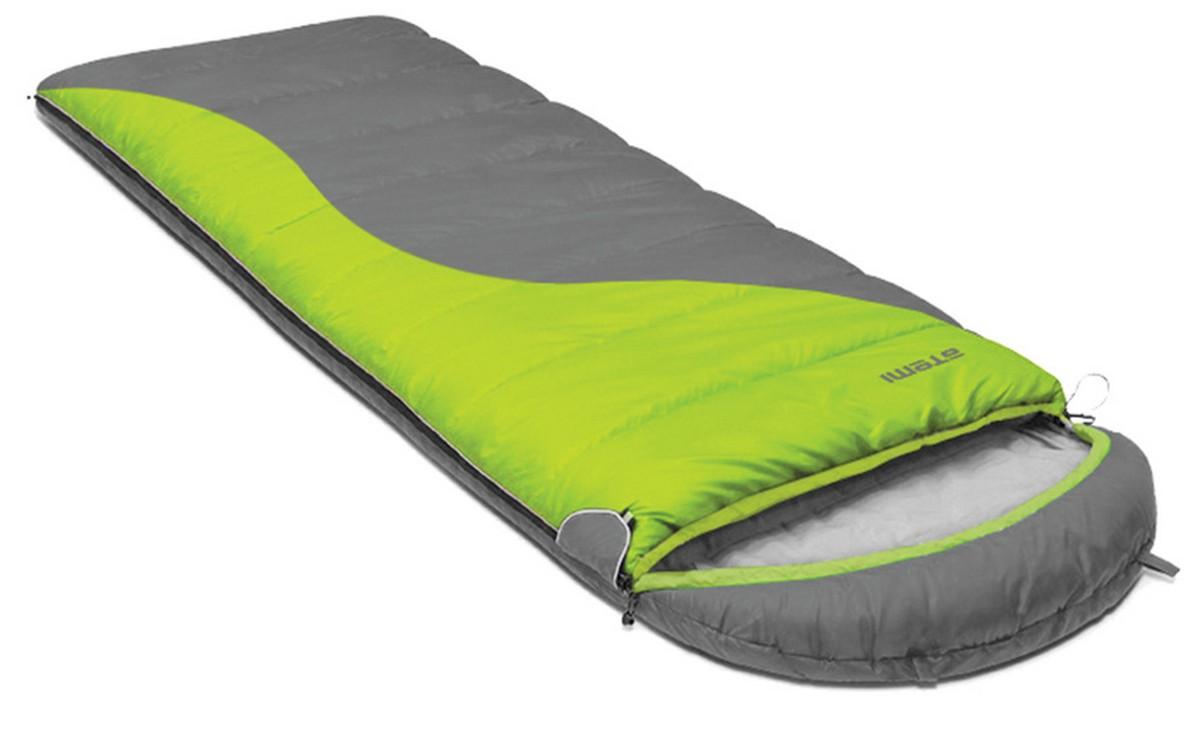 Спальный мешок туристический Atemi 350 г/м2, -6 С, right Quilt 350R