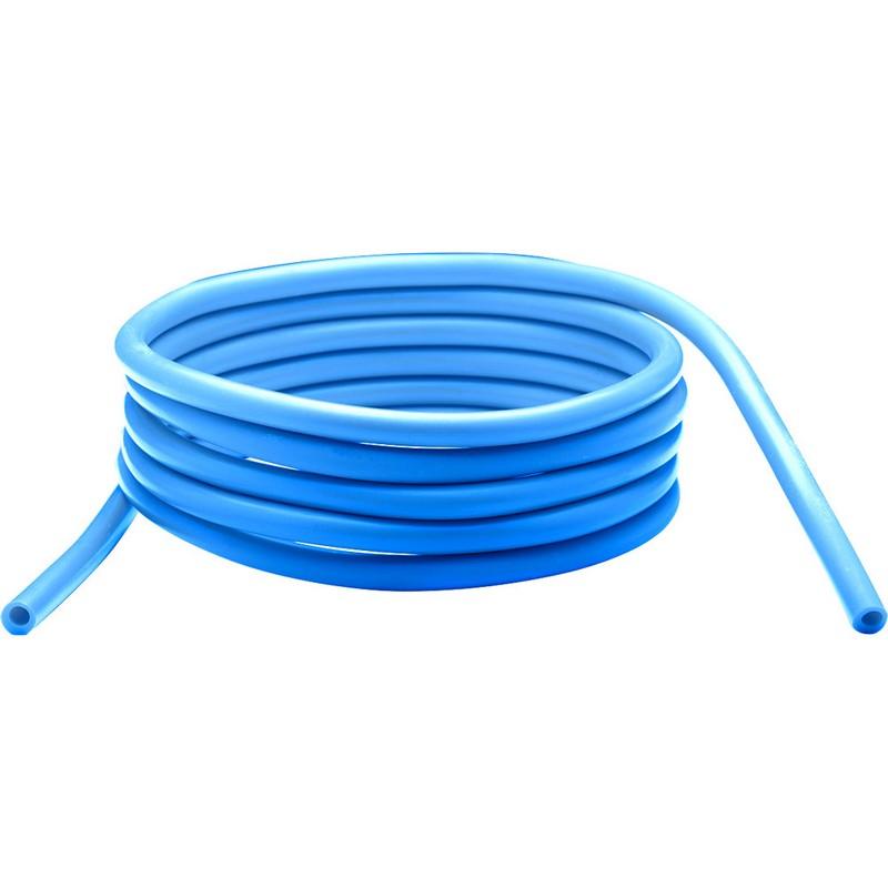 Купить Эспандер силовой резиновая трубка 3м, 12-15 кг, Синий -Серия PRO RTE-201, NoBrand
