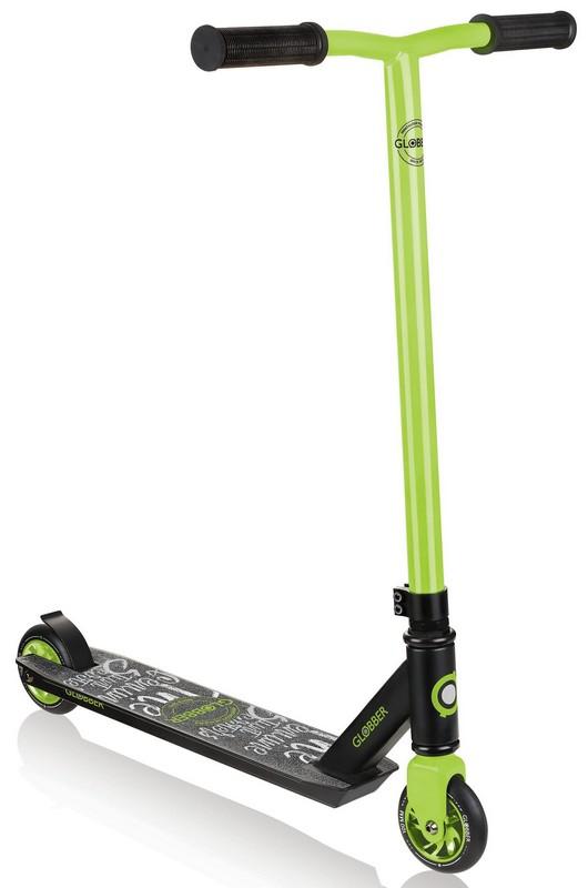 Купить Трюковой самокат Globber GS 360 зеленый,