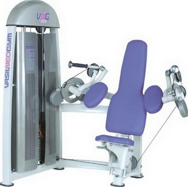 Трицепс машина Vasil Gym В.916 ручка для тяги на трицепс v образная серьга body solid mb507rg