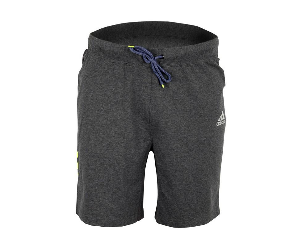 Шорты спортивные Adidas Base Shorts Speedline серо-желтые adiSBS01SL
