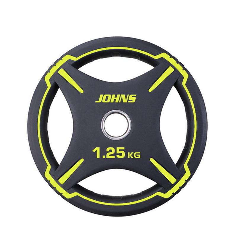 Купить Диск Johns D50мм чёрно-жёлтый 1,25 кг 91030 -1,25ВC,