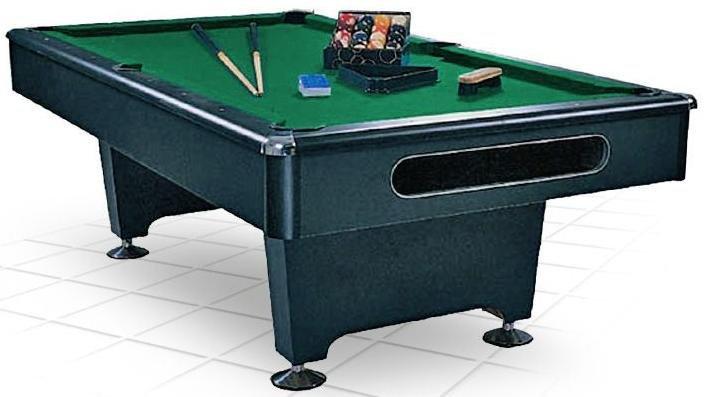 Купить Бильярдный стол пул Dynamic Billard Eliminator 8 ф в комплекте аксессуары + сукно 55.005.08.0 черный,