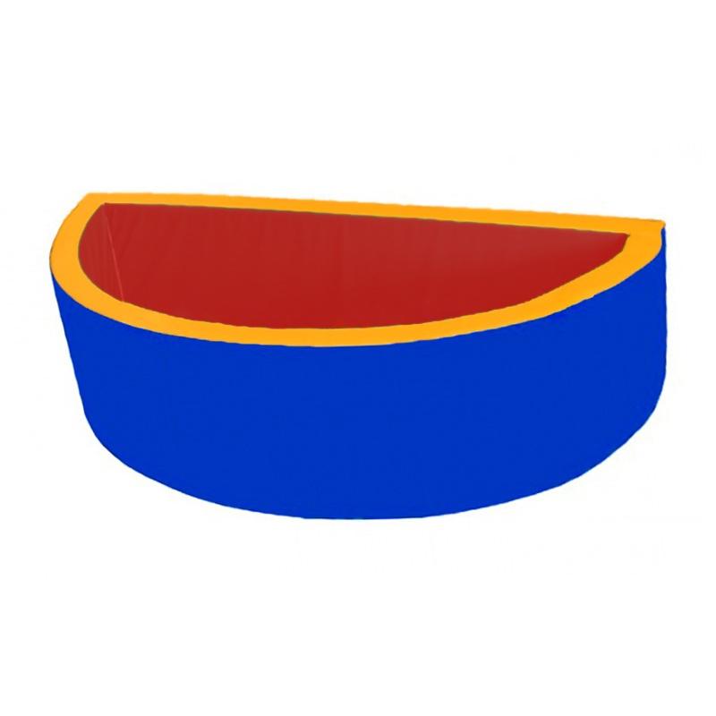 Купить Сухой бассейн полукруглый 2000х1000х600х100 мм Dinamika ZSO-003040, Сухие бассейны