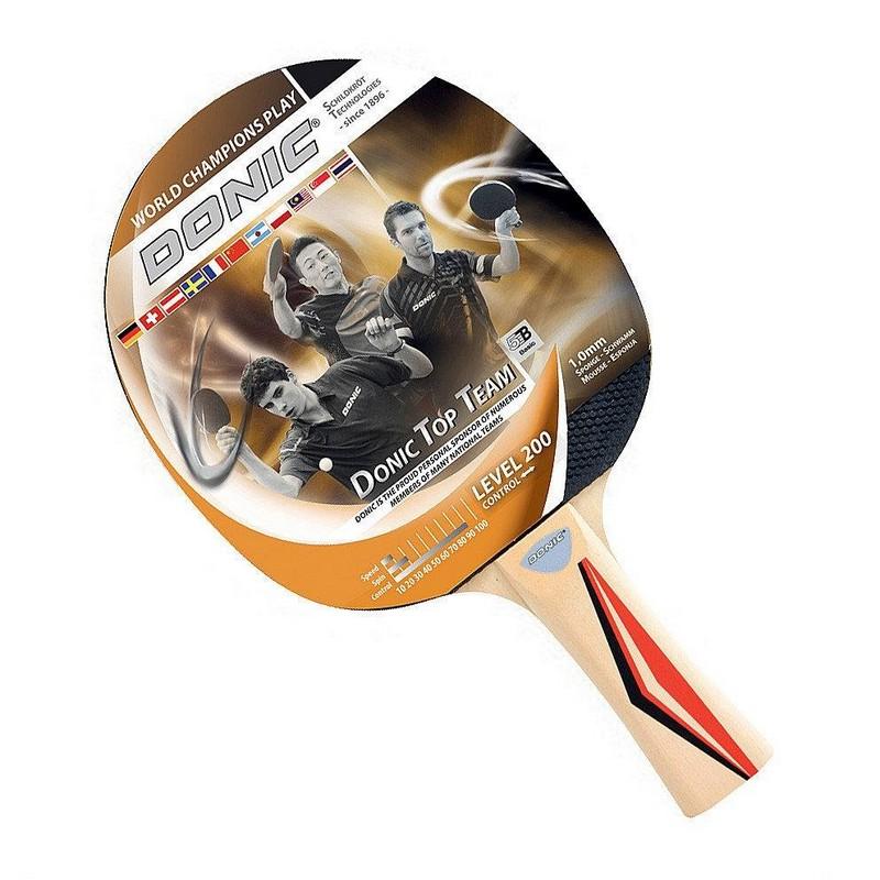 Купить Ракетка для настольного тенниса Donic Top Team 200,