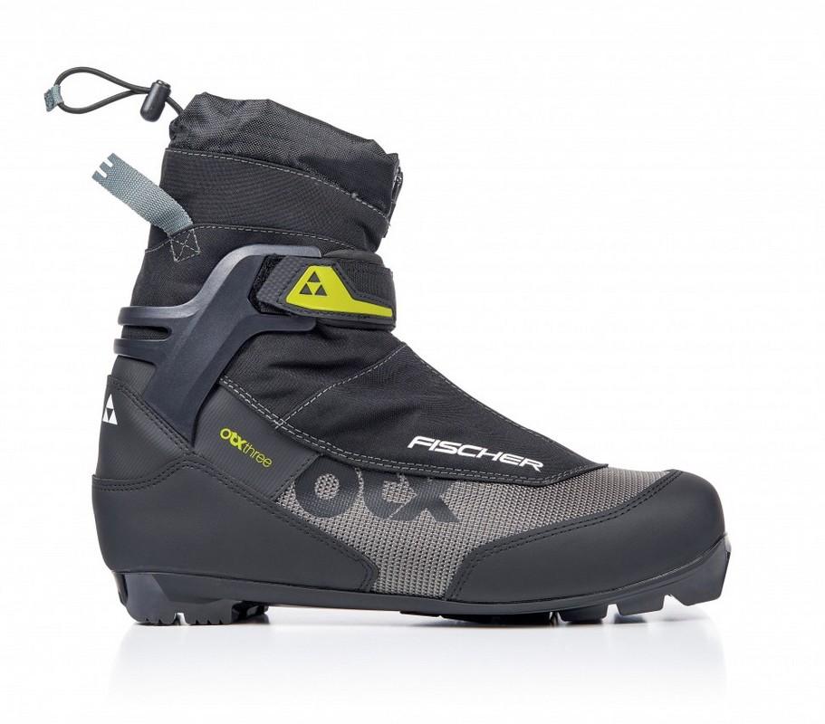 Купить Лыжные ботинки Fischer NNN Offtrack 3 (S35418) (черный/желтый),