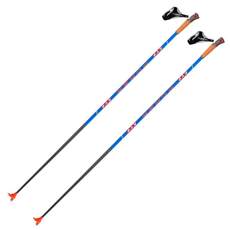Лыжные палки KV+  Forza Blue Clip 22P016B голубой
