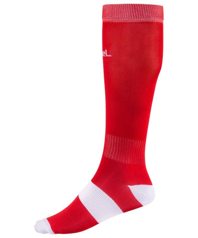 Гетры футбольные J?gel JA-001, красный/белый