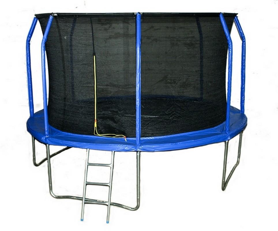 Батут Body Gym с лестницей и сеткой, 8FT, 244 см