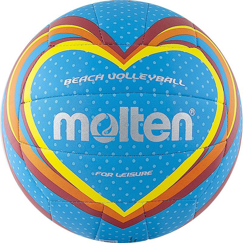 Мяч для пляжного волейбола р.5 Molten V5B1501-B мячи pic n mix мяч массажно игровой большой 18 см