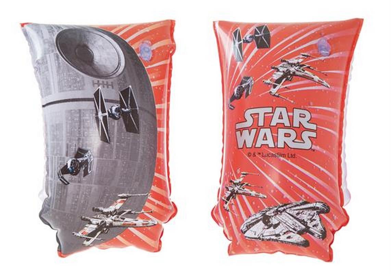 Нарукавники для плавания Bestway Star Wars 30x15 см 91210 бассейн каркасный bestway 56401 bw прямоугольный 221х150х43 см