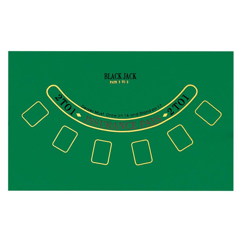 Сукно для покера и блэк-джека (90х60см) sukno9060