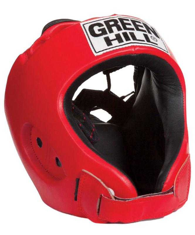 Шлем открытый Green Hill Alfa HGA-4014 красный