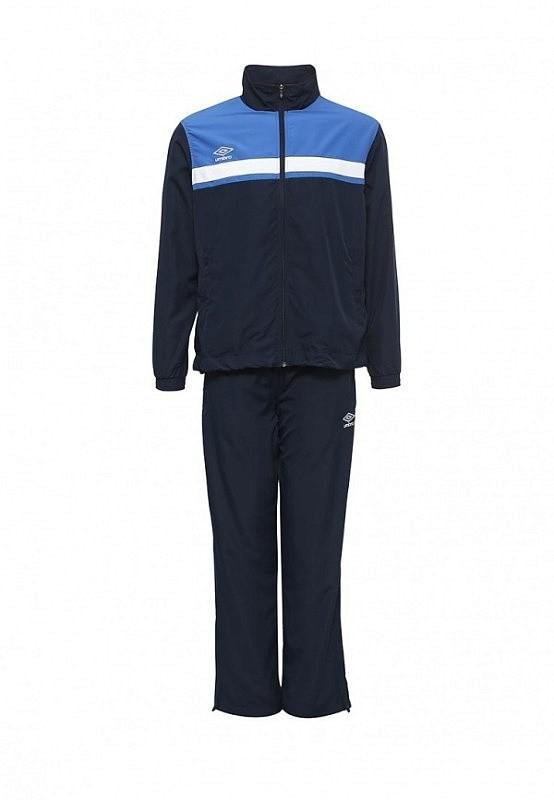 Костюм спортивный Umbro Smart Lined Suit мужской 462016 (971) т.син/син/бел.