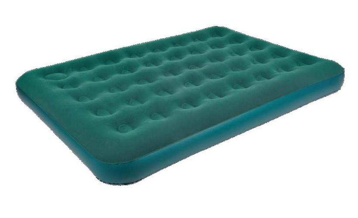 Кровать со встроенным ножным насосом Relax Flocked Air Bed Double 191x137x22см 26087-1