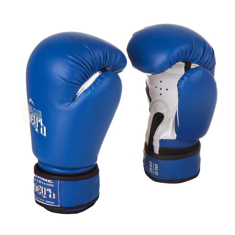 Купить Боксерские перчатки Боецъ BBG-02 Синие 8 oz,
