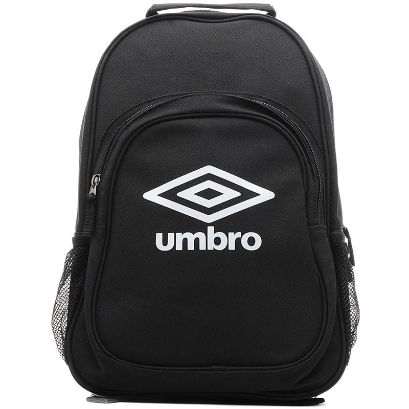 Рюкзак спортивный Umbro Team Backpack, 2 отделения + мини-органайзер, черн/бел.