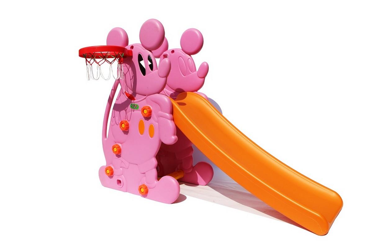 Горка Perfetto Sport Мышка PS-027 розовый smoby детская горка king size цвет красный