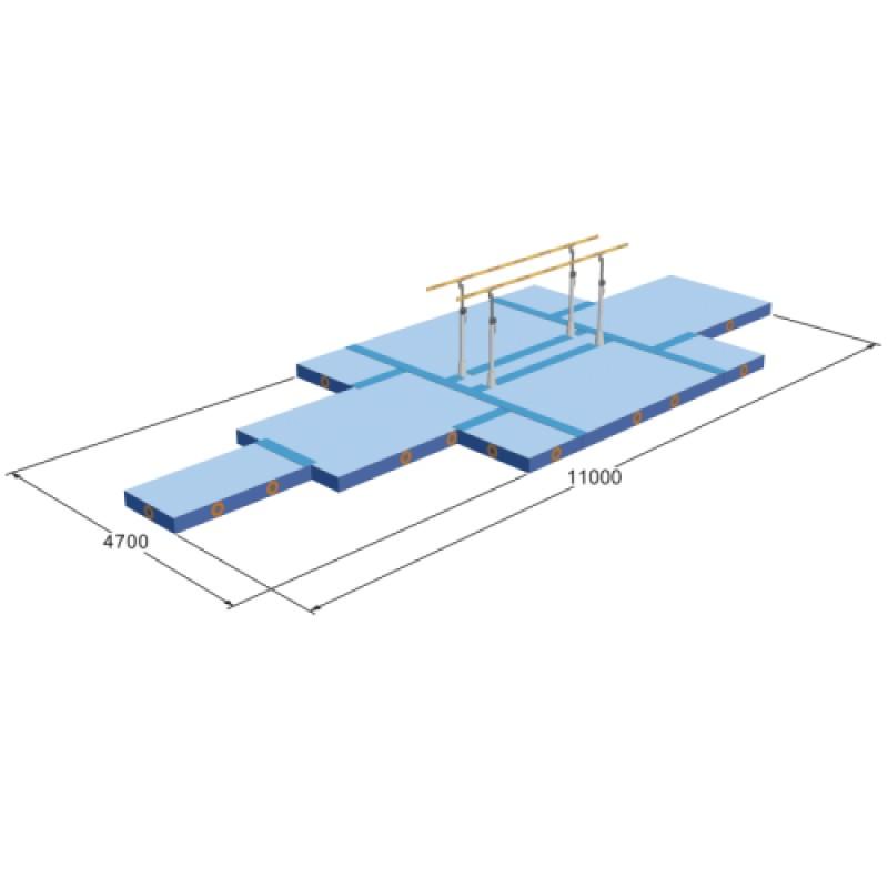 Купить Маты обкладочные SPIETH Gymnastics для брусьев параллельных, соревновательные 1565852,