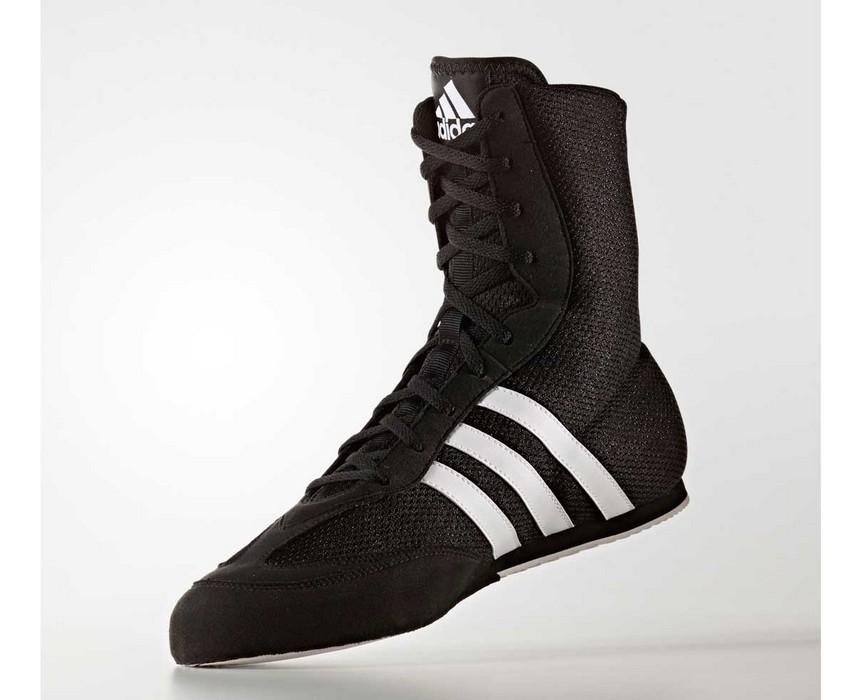 Боксерки Adidas Box Hog 2 черно-белые BA7928
