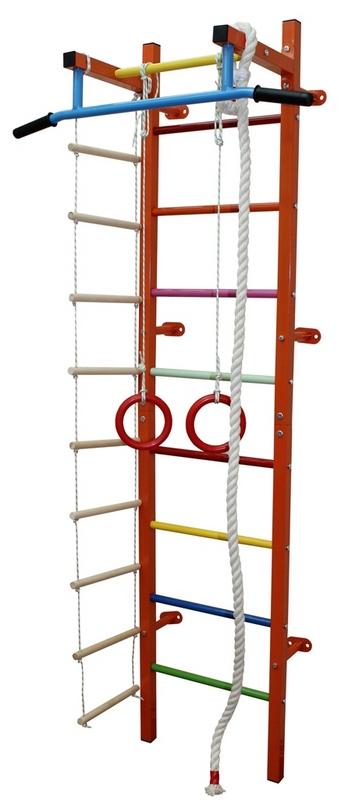 Купить Мини-2 дск (канат+лестница9+кольца) Plastep Мини-2,