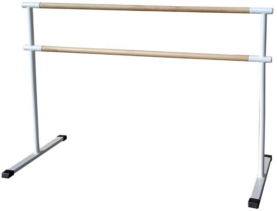 Купить Станок хореографический Atlet мобильный, двурядный (2,0 м) поручень - сосна IMP-A446,