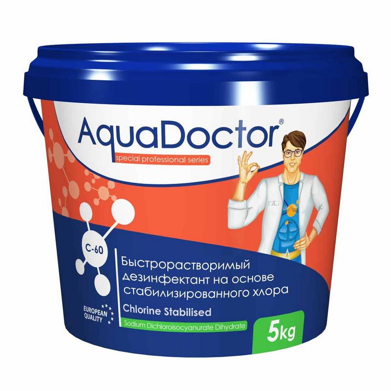 Купить Хлор-шок AquaDoctor C-60 5 кг,