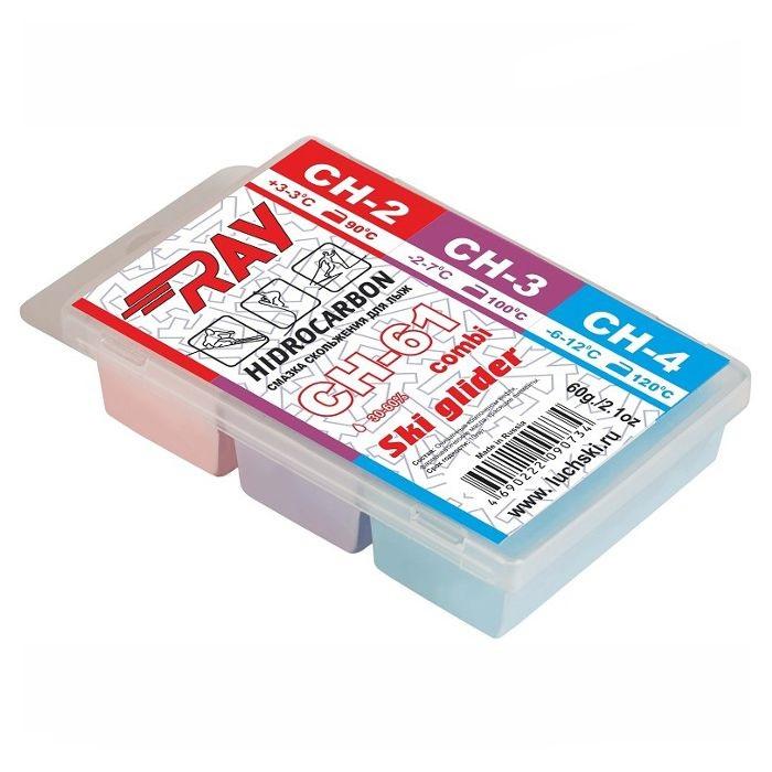 Купить Набор углеводородных парафинов Ray (ЛУЧ) Combi (+3°С -12°С) 60 г. CH61,