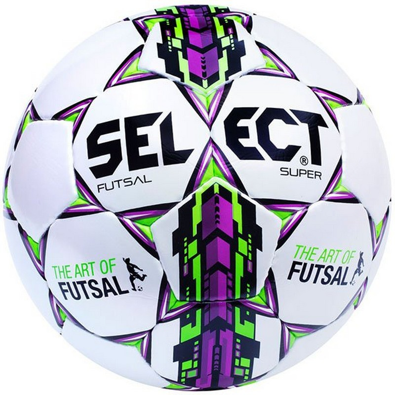 Мяч футзальный Select Futsal Super FIFA №4 (ПУ) FIFA Approved мяч футзальный select futsal talento 11 852616 049 р 3