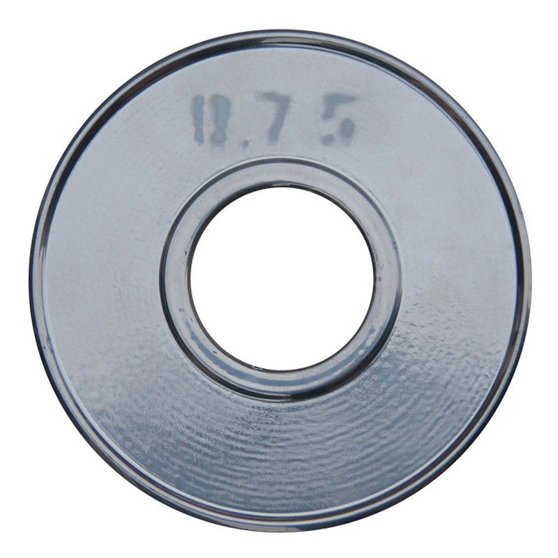 Диск хромированный ProfiGym d31 мм 0,75 кг ДТХ -0,75/31