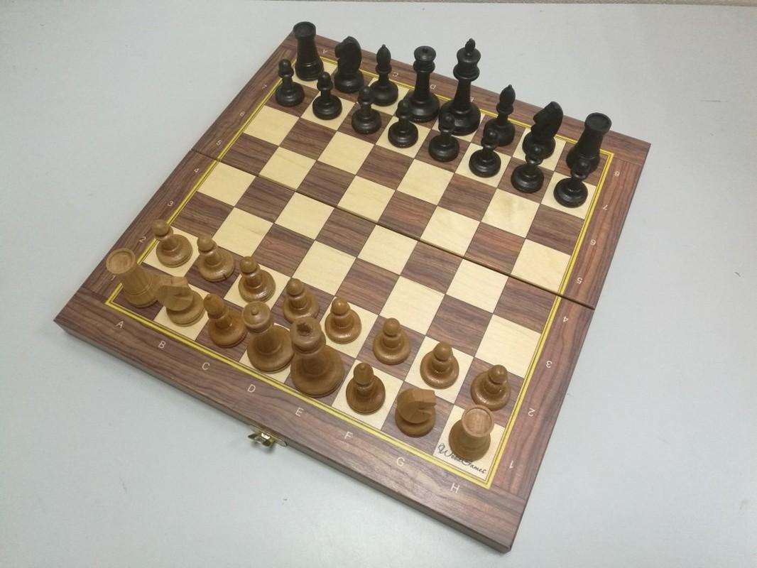 Купить Шахматы турнирные Баталияс утяжелителем со складной доской 38 см ТШ 20, NoBrand