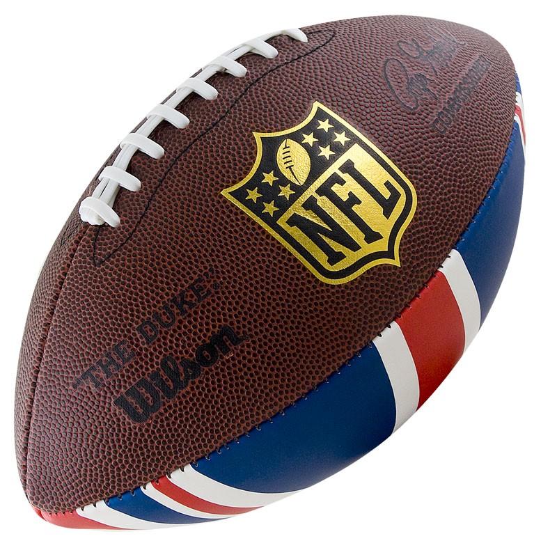 Мяч для американского футбола Wilson NFL Team Logo WTF1748XBLGUJ от Дом Спорта