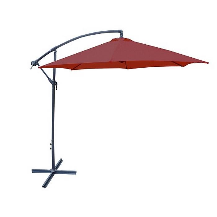 Зонт пляжный 1051 красный р 300см