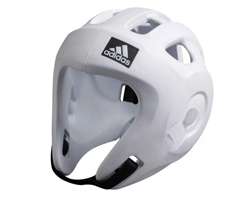 Шлем для единоборств Adidas Adizero белый adiBHG028