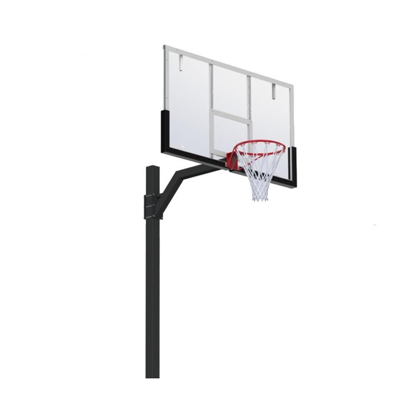 Купить Стойка баскетбольная регулируемая под бетонирование вынос 1200 мм (разборная) Dinamika ZSO-002770,