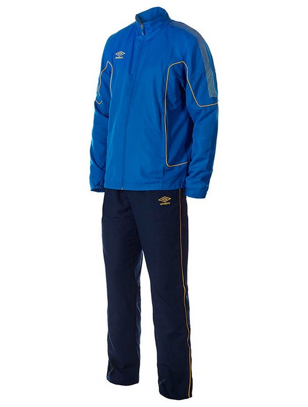 Костюм спортивный Umbro Prodigy Team Cotton Suit мужской 350215 (793) син/т.син/жел.