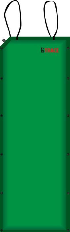 Ковер самонадувающийся 188х66х5 см BTrace M0202 зеленый
