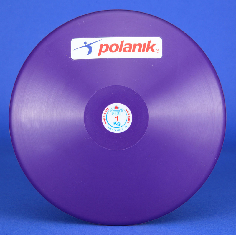 Купить Диск тренировочный TRIAL, супер-мягкая резина, вес 1,5 кг, D220 мм Polanik DSK-1,5-JB,
