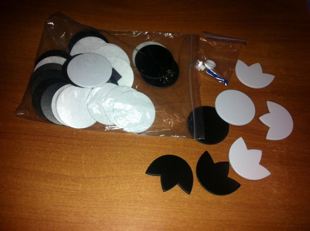 Шашки для демонстрационной настенной магнитной доски Д 16, NoBrand  - купить со скидкой